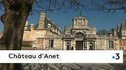 Découvrez le château d'Anet, en Eure-et-Loir, le château de Diane de Poitiers