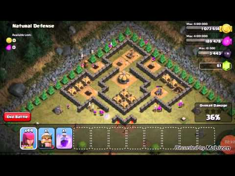 Clash of Clans: Natural Defense - Lvl 30