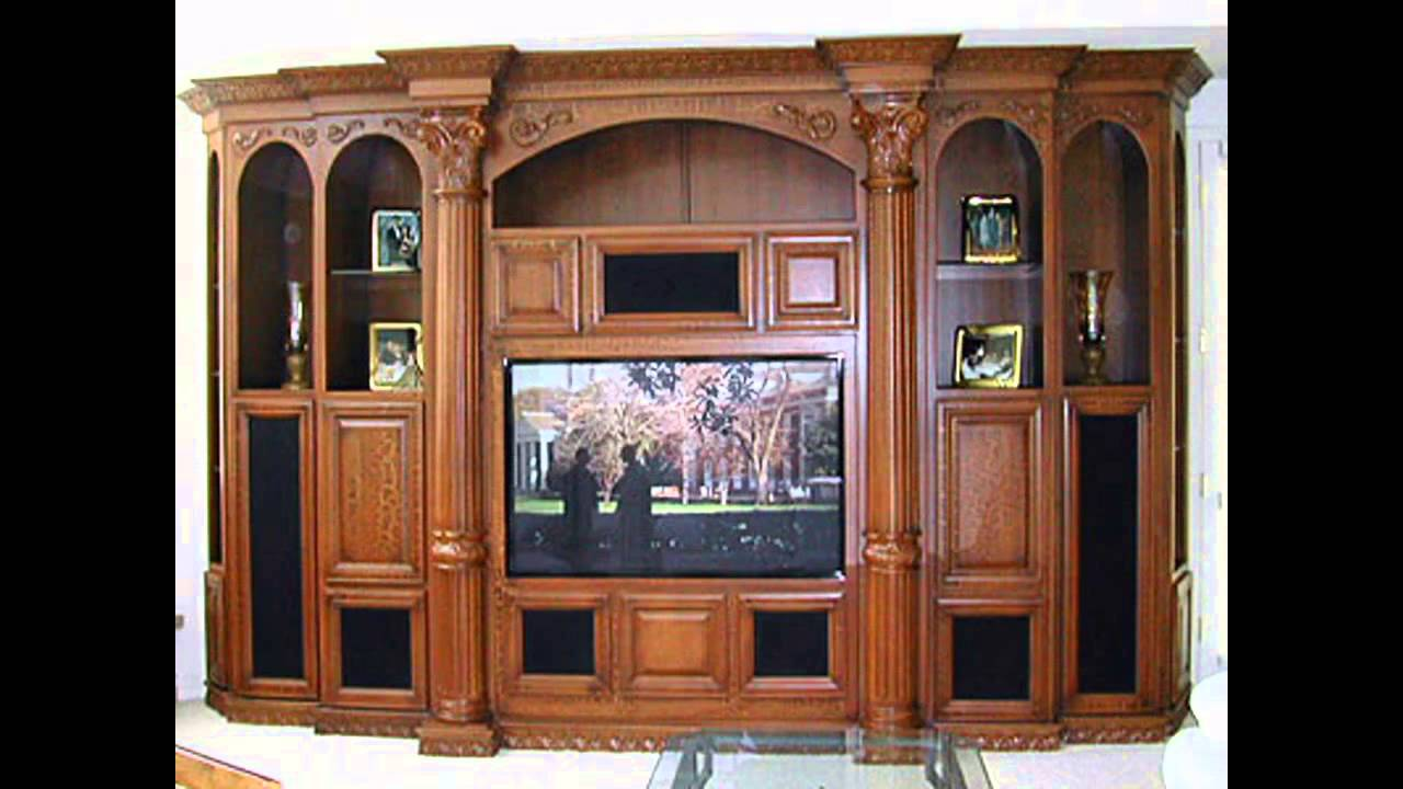 Custom Home Theater Cabinets Ideas