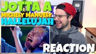 Jotta A e Michely Manuely - Hallelujah | REACTION