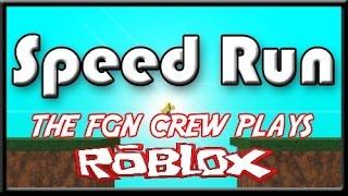 La tripulación de FGN juega: Roblox - Speed Runner (PC)