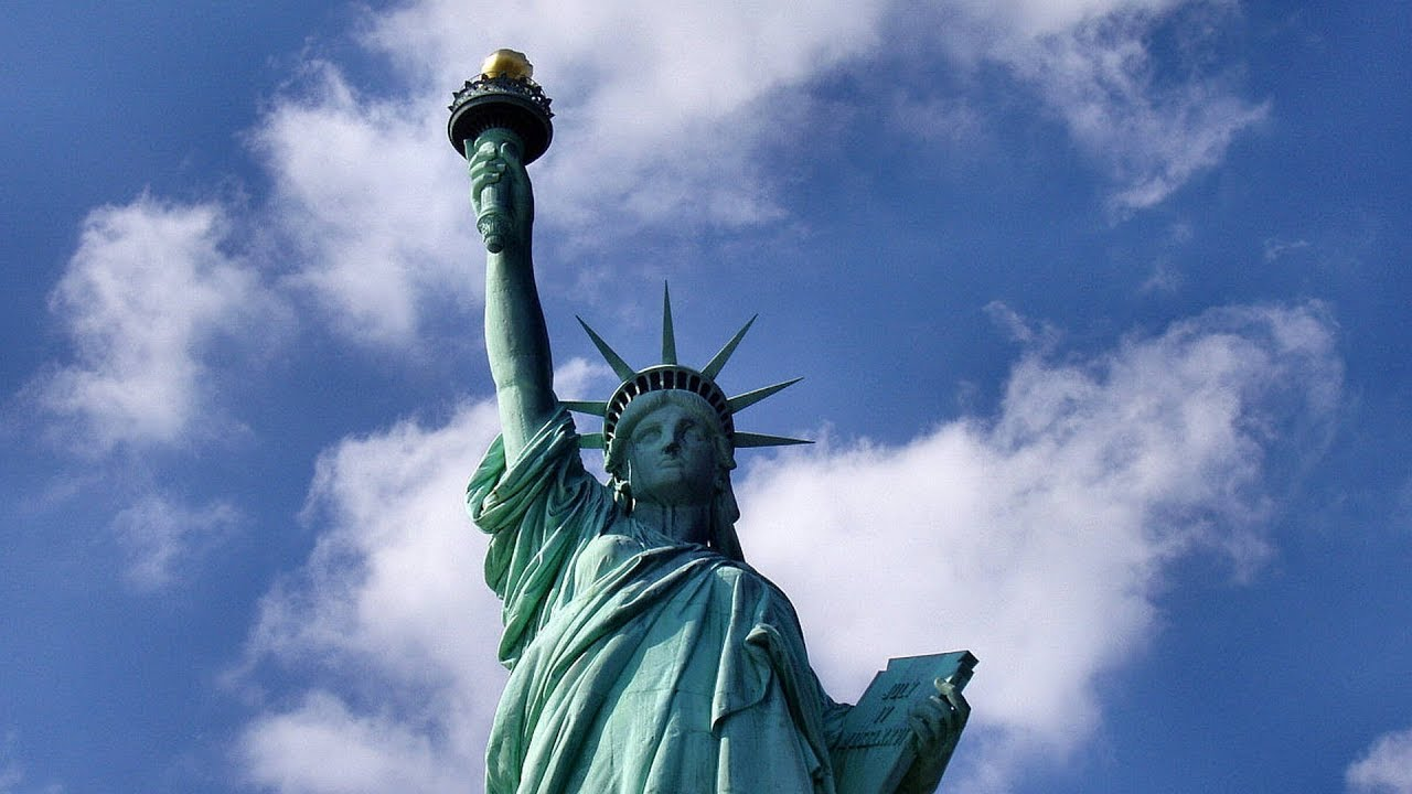 Give Me Your Tired Your Poor Trump Admin Attacks Emma Lazaruss Iconic Poem On Statue Of Liberty Youtube