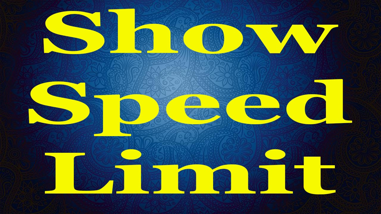How to show Speed Limits on Android Navigation