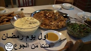 فلوق : اول يوم رمضان !!  صيام لمدة 20 ساعة في السويد!!!