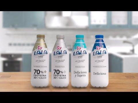 Comercial Lala 100 Sin Lactosa (Nueva Generación) - 2018