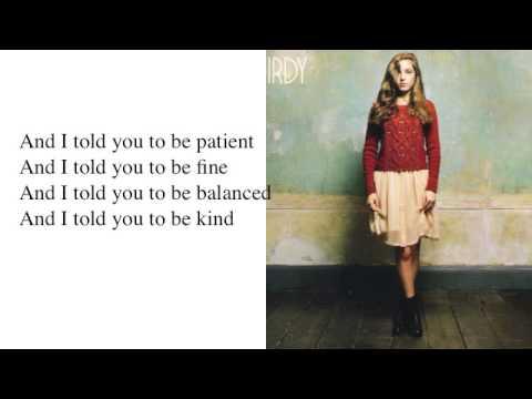 Skinny Love - Birdy - Lyrics