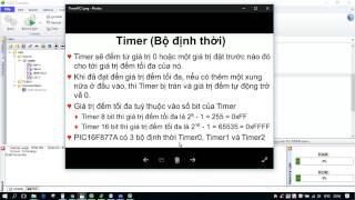 Lập trình PIC CCS Bài 8: Timer - Bộ đếm. Đo tốc độ động cơ dùng timer