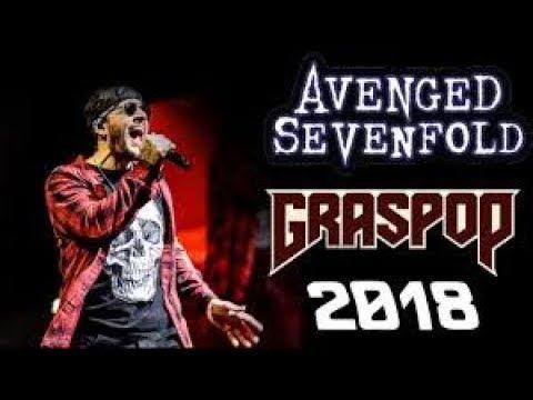 Avenged sevenfold - So far away live at GRASPOP 2018 best live version