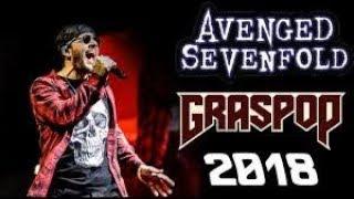 Download Avenged sevenfold - So far away live at GRASPOP 2018 best live version