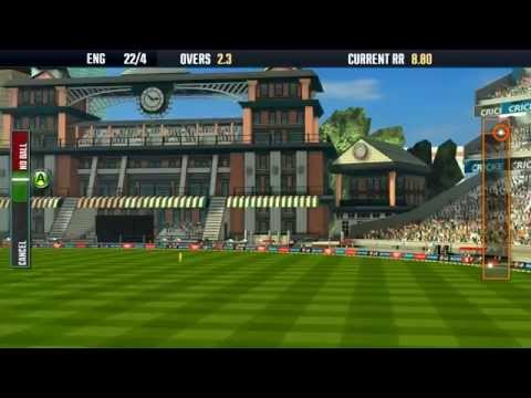 ICC Pro Cricket 2015 - Official World Cup Game - Aus vs Eng Gameplay