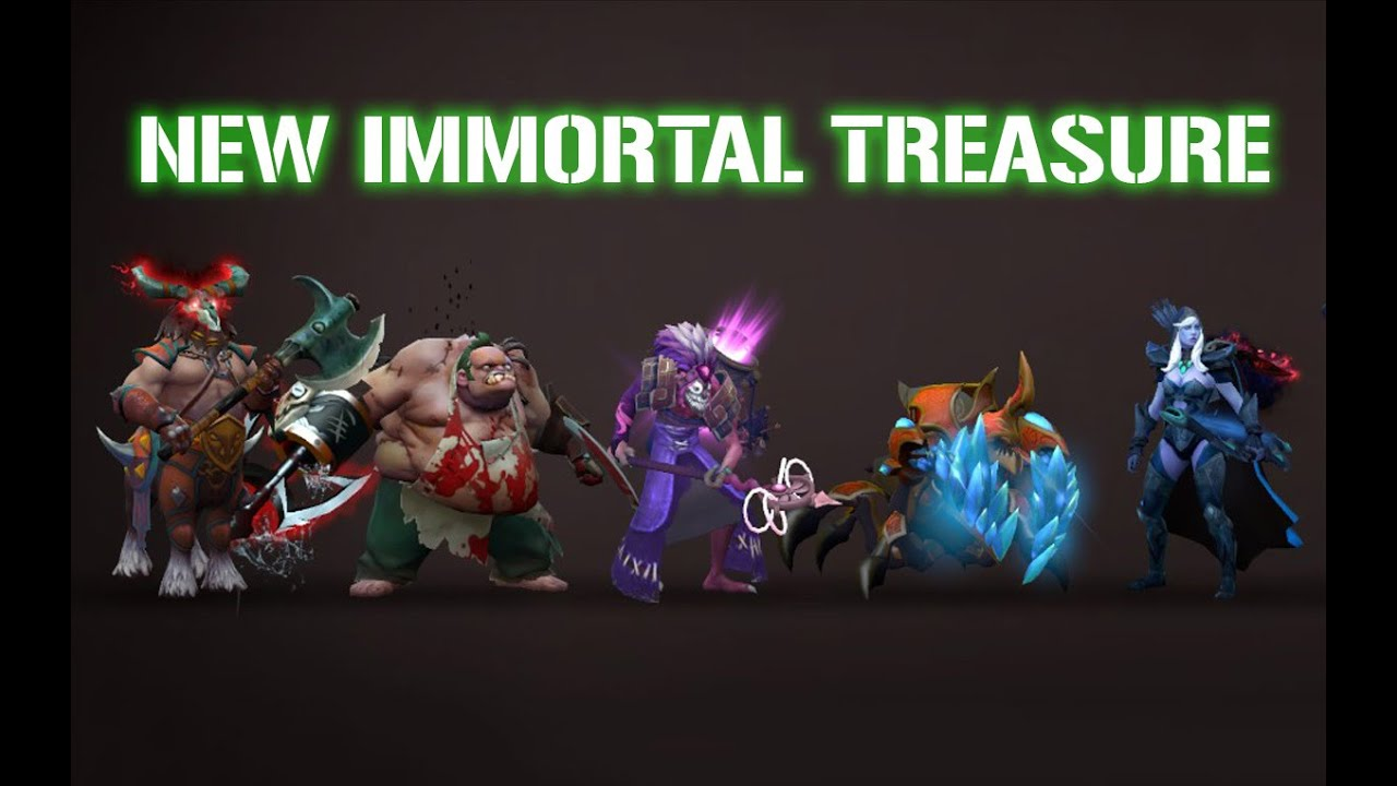 Dota 2 - Trove Carafe Immortal Treasure Item Preview [2016] #TI6