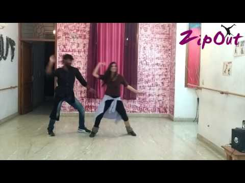 Tu Lagawelu Jab Lipstick || Choreography || Zipout || Ragini and Shashank