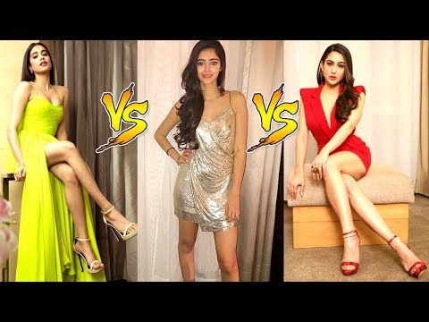 Jhanvi Kapoor Vs Sara Ali Khan Vs Ananya Pandey | Who Looks More STUNNING