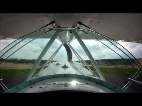 GoPro HD: Pitts S2A Flying