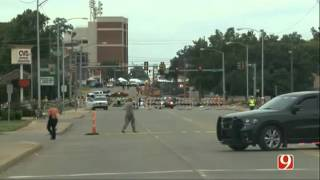 Raw  Deadly Okla  City Parade Crash