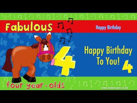 Kidzone - Happy Birthday To Four Year Olds Mp3