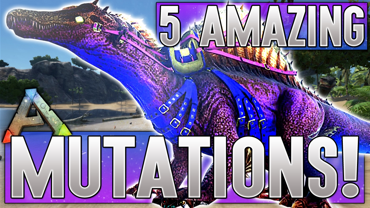 5 AMAZING DINO MUTATIONS! Ark Survival Evolved - XB1 (Top