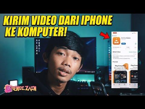 Pernah gak kamu mengalami kesulitan mengirim atau memasukan video dari laptop macbookmu ke iphone ? .