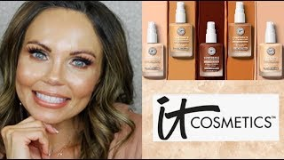 NEW IT COSMETICS CONFIDENCE IN A FOUNDATION | TESTED FOR 3 DAYS | 35 + OVER