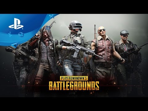PlayerUnknown's Battlegrounds  Launch Trailer [PS4]