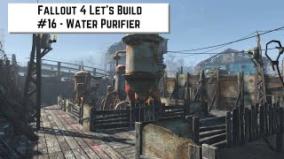 Fallout 4 Let's Build #16 - Water Purifier(This time around I build a bigger version of the water purifier area from my original Sanctuary tour. Except with more or them. Because reasons. Follow me on ..., 2016-03-06T01:31:41.000Z)
