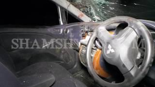 Խոշոր ավտովթար Կոտայքի մարզում  26 ամյա վարորդը Mitsubishi ով բախվել է էլեկտրասյանը