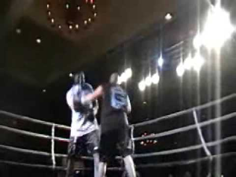 Riddick Bowe vs  Max Garcia at Celebrity boxing event in Monterey