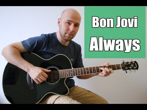 Always - Bon Jovi Fingerstyle Guitar Cover