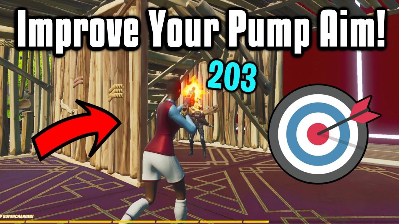 Hit *200* Pumps EVERY Time In Fortnite! - Shotgun Aim Guide!