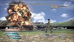 Final Fantasy 13::Easiest Strategy to Beat an Adamantoise HD (No Death) (Sazh)
