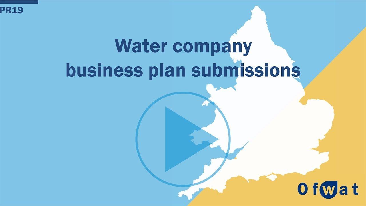 Business plans - Ofwat