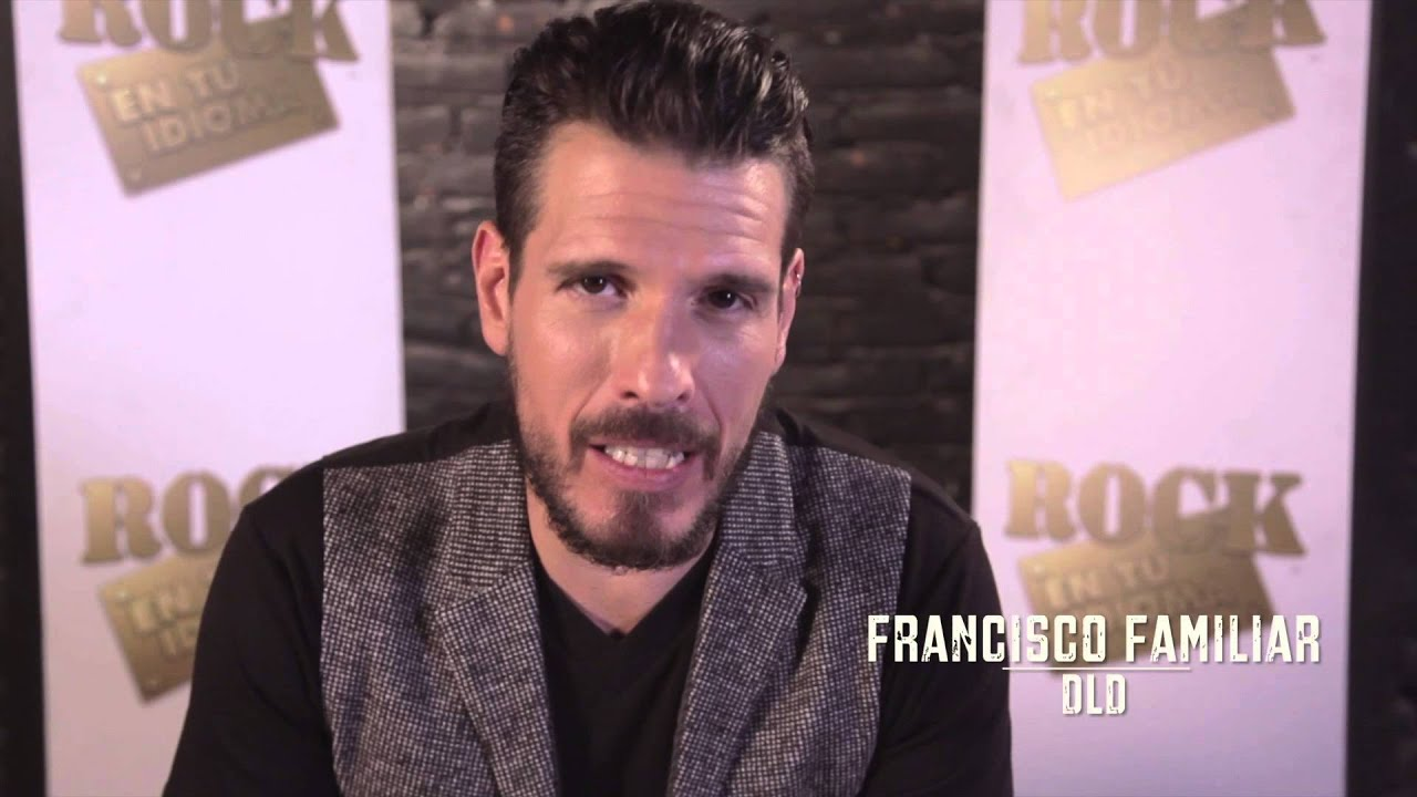 Francisco familiar presenta rock en tu idioma sinf nico for Paco familiar