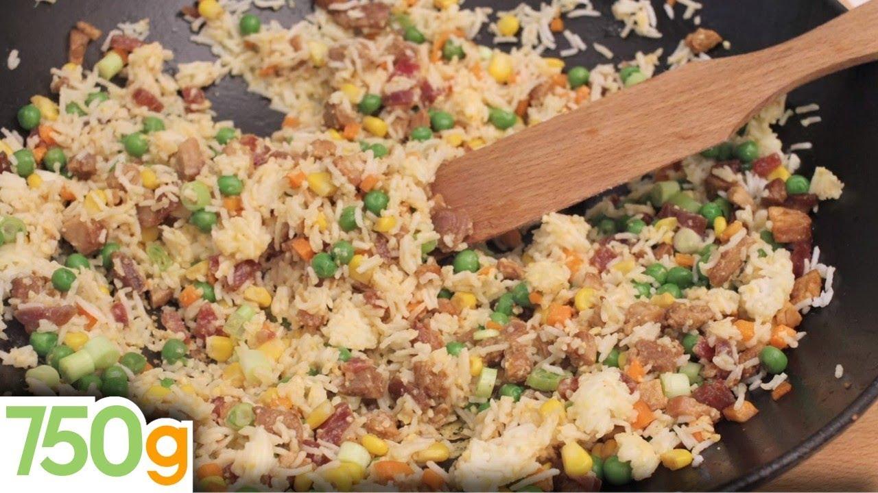 Recette du v ritable riz cantonais 750 grammes youtube for Cuisine 750g