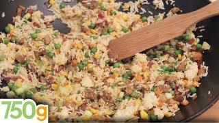 Recette du Véritable riz Cantonais - 750g