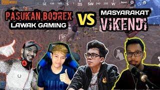 BANG ALEX, MOZA, ARIS, BREWOK, BENO VS MASYARAKAT VIKENDI - PUBG MOBILE INDONESIA