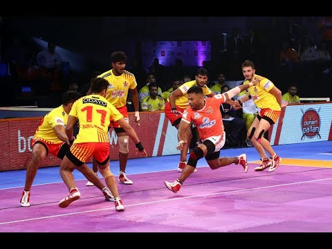 Pro Kabaddi 2018 Highlights | Puneri Paltan Vs Gujarat Fortunegiants | Hindi