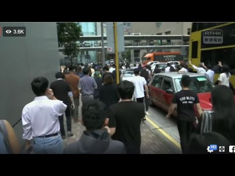 [10.4] HK Emergency Reg. Ordinance Protest (English) #hongkong #protest #news