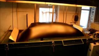 Формовка бампера на ВФМ-2 formovca.ru(Вакуумная формовка бампера для легкового автомобиля., 2014-02-01T13:49:33.000Z)