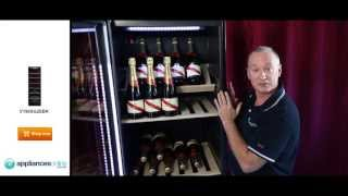 Expert Description Of The V190sg2ebk 170 Bottle Vintec Wine Storage Cabinet - Appliances Online