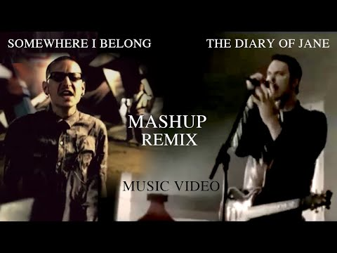 Linkin Park & Breaking Benjamin - Diary Of Somewhere - Mashup Somewhere I Belong & The Diary Of Jane