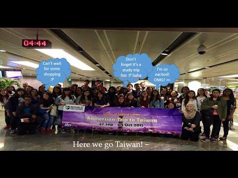 Student Overseas Trip - Taipei, Taiwan ♥