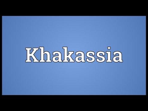Khakassia Meaning