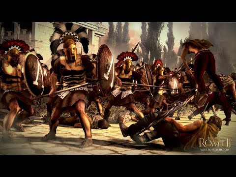 Total War: Rome 2 Sparta vs Roma