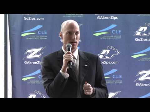 Akron Men's Basketball - John Groce Introductory Press Conference (April 6, 2017)