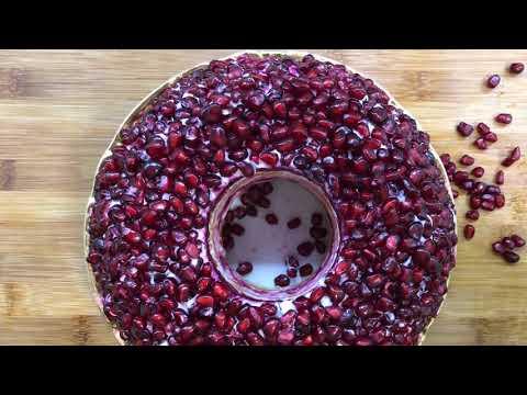 "Новогоднее меню: Салат ""Гранатовый браслет""!!! | Զմրուխտե Շղթա | Salad Garnet Bracelet"