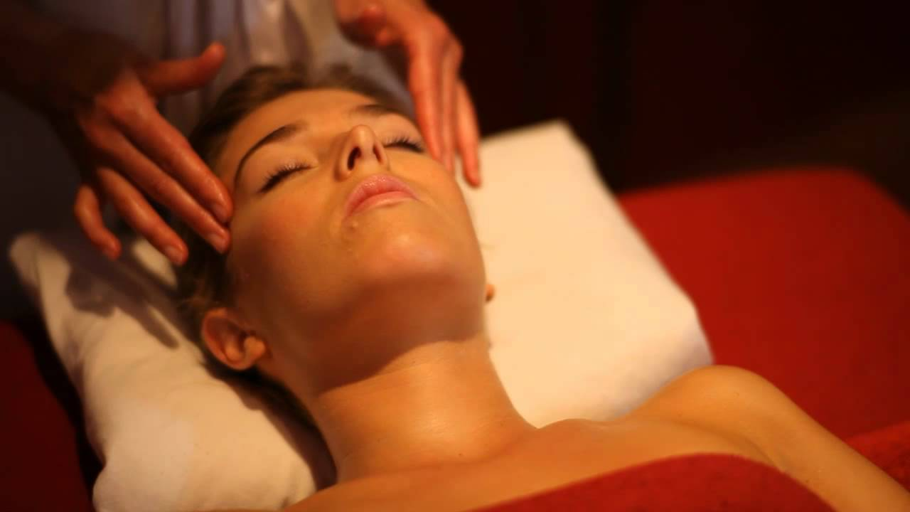massage du visage - youtube