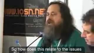 richard stallman about open source software