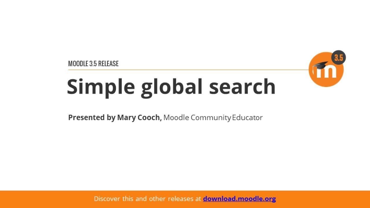 Global search - MoodleDocs