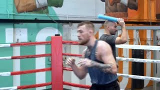 Conor McGregor Training Reaction Time with Ido Portal For Floyd Mayweather Match