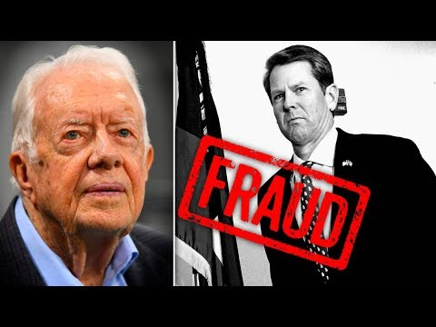 Jimmy Carter Calls on Brian Kemp to Resign Amid Voter Suppression Scandal